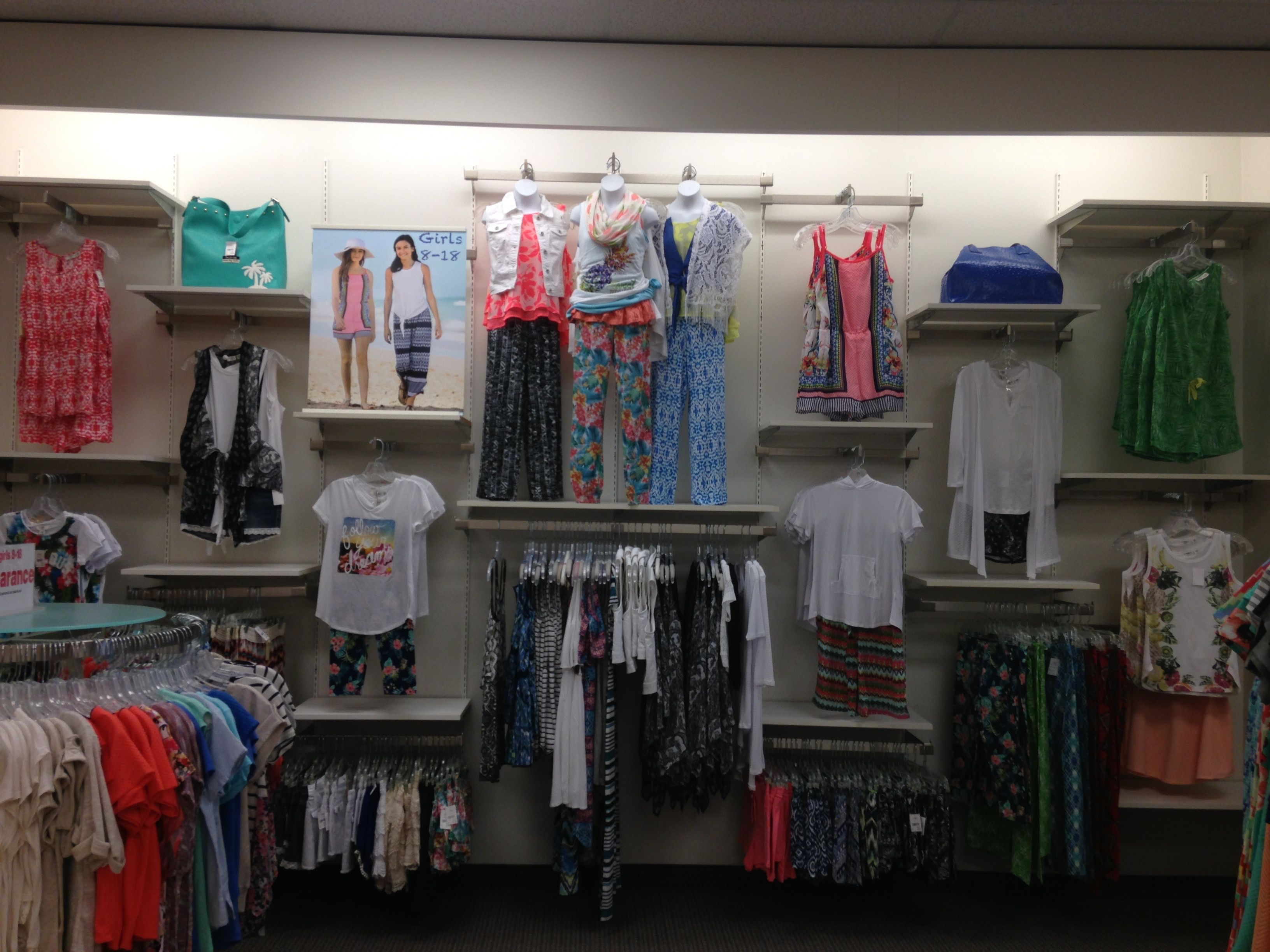 Delightful Cato Fashions   Summer 2015 Little Girls Wall Display #girl #clothing  #shopping #
