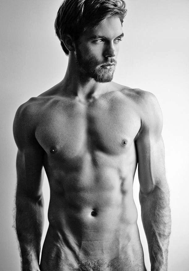 American nude male model #14