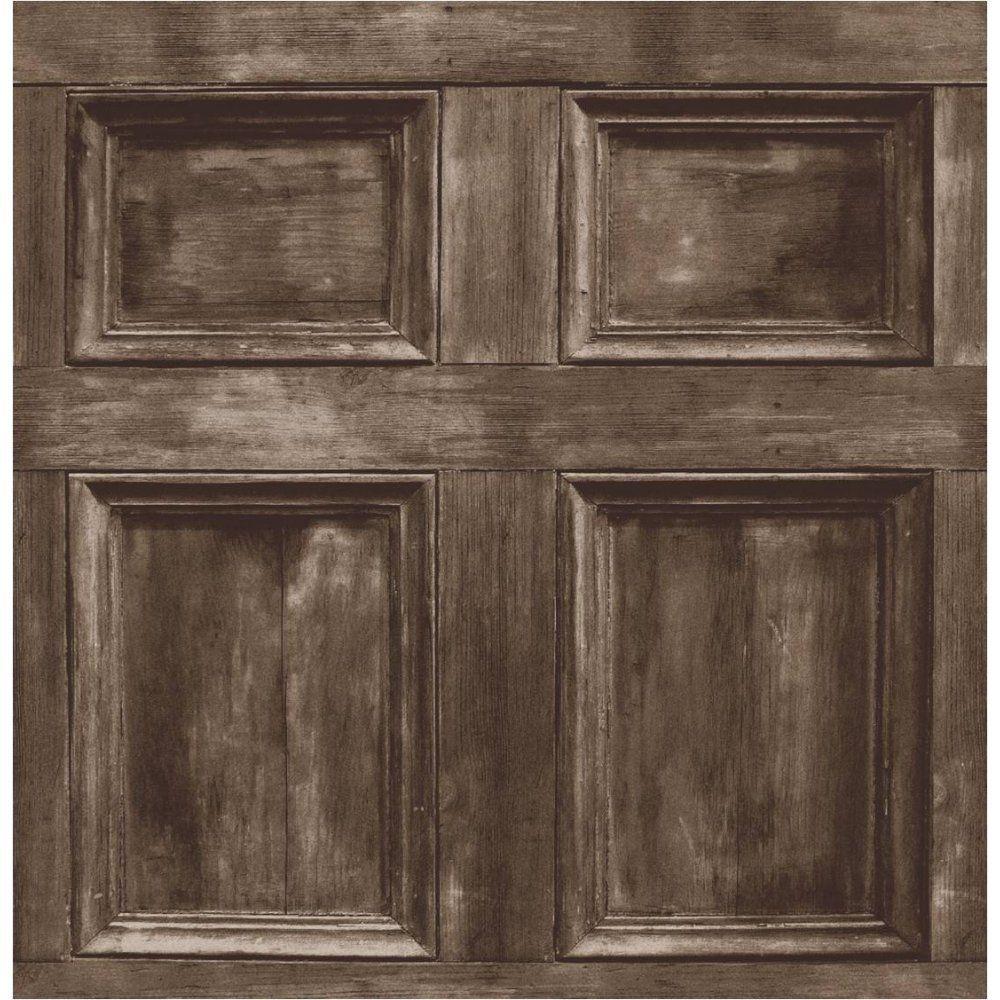 Brewster FD31055 Wood Panel Wallpaper Chocolate Amazon