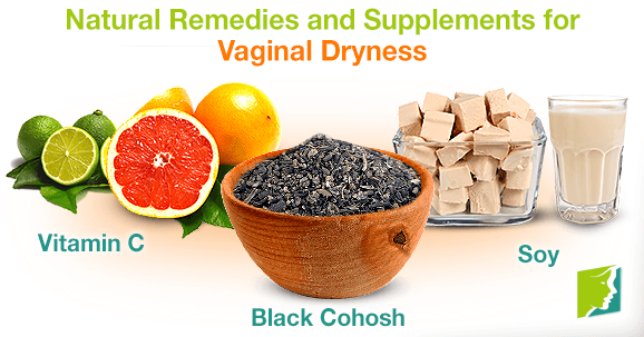 Herbal treatment for vaginal dryness