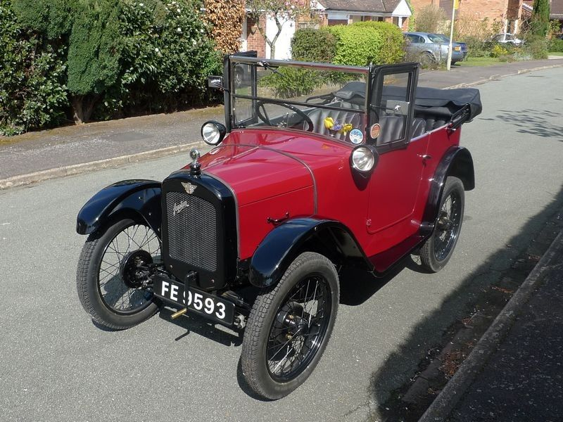 Austin 7 Chummy 1927 - My Dad had one just like this! | мерседес 126 ...
