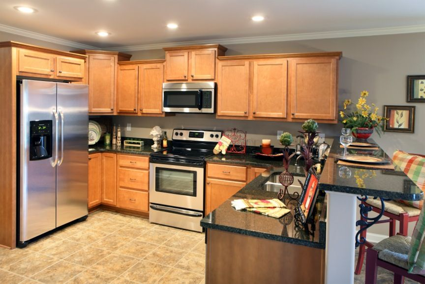 Awesome kitchen design in rivercrest a grant co