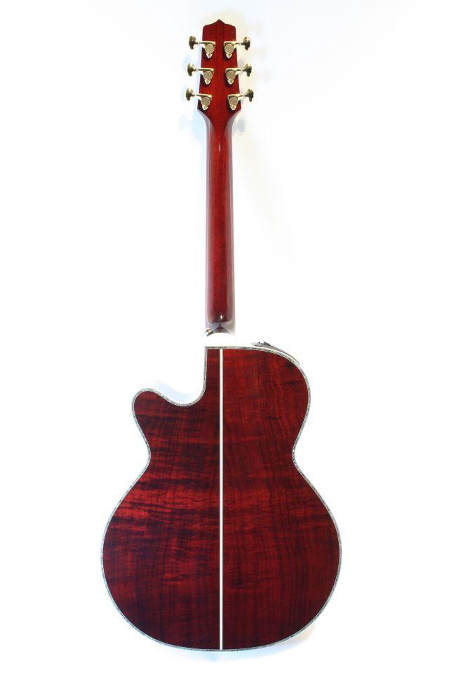 Takamine DMP500KC Wine Red All Koa (Full Backbody)