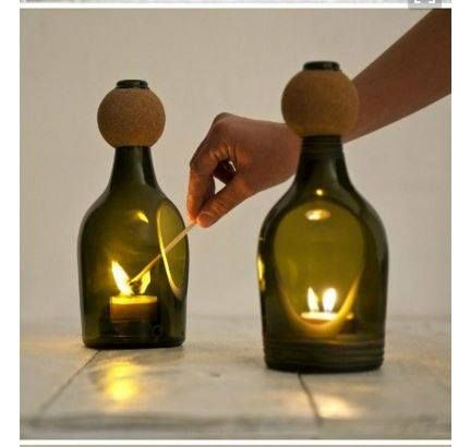 Tagliare Bottiglie Di Vetro.Tantissimi Strepitosi Ricicli Di Bottiglie Di Vetro Idee