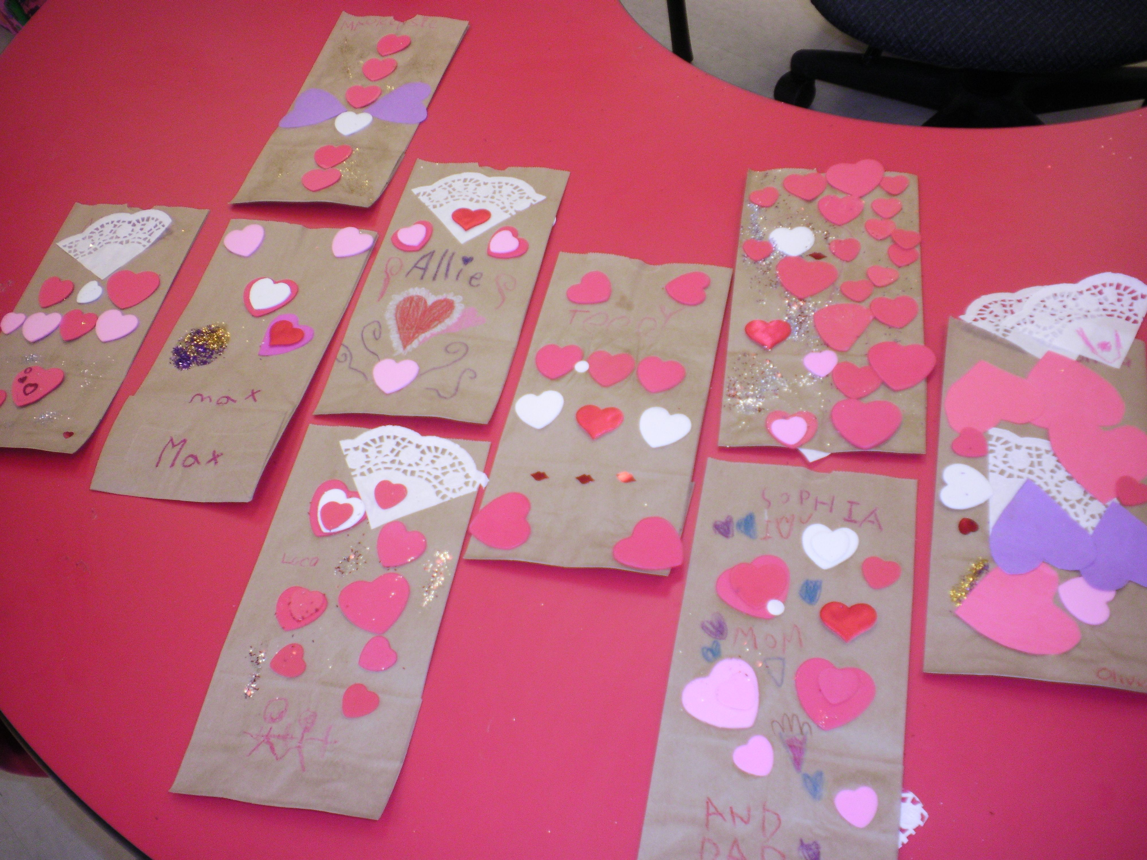 Valentine Card Bags Fun To Decorate And An Easy Way For The