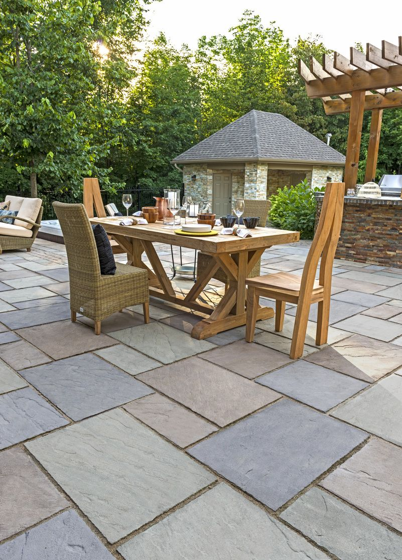 Design Ideas For Concrete Brick And Paving Stone Patios   Landscape Express  Boston