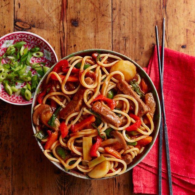korean beef noodles   recipe   beef and noodles, healthy