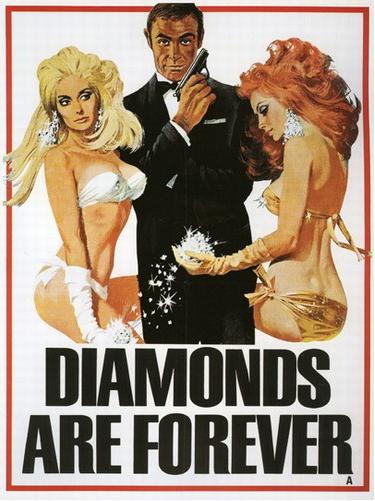 Vintage 007 Poster