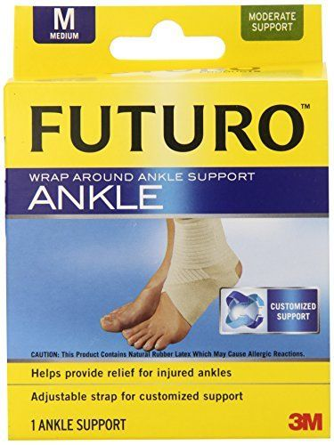 Futuro Wrap Around Ankle Support Medium Size Medium Model Check Out The Image By Visiting The Link Ankle Support Supportive Joint Protection
