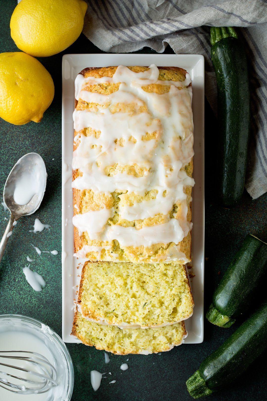 lemon zucchini bread irresistable flavor  cooking