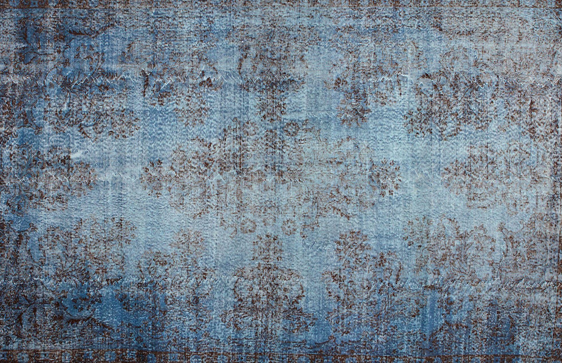 vintage blau 202 cm x 314 cm colored vintage carpets pinterest farbe jeans patchwork. Black Bedroom Furniture Sets. Home Design Ideas