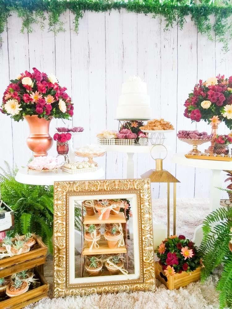 Cactus Engagement Party Ideas Bridal Shower Rustic Bridal Shower Party Engagement Party