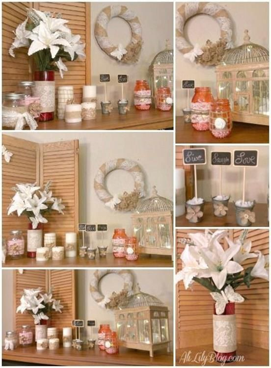 Simple And Beautiful 39 DIY Craft To Decorate Your Home
