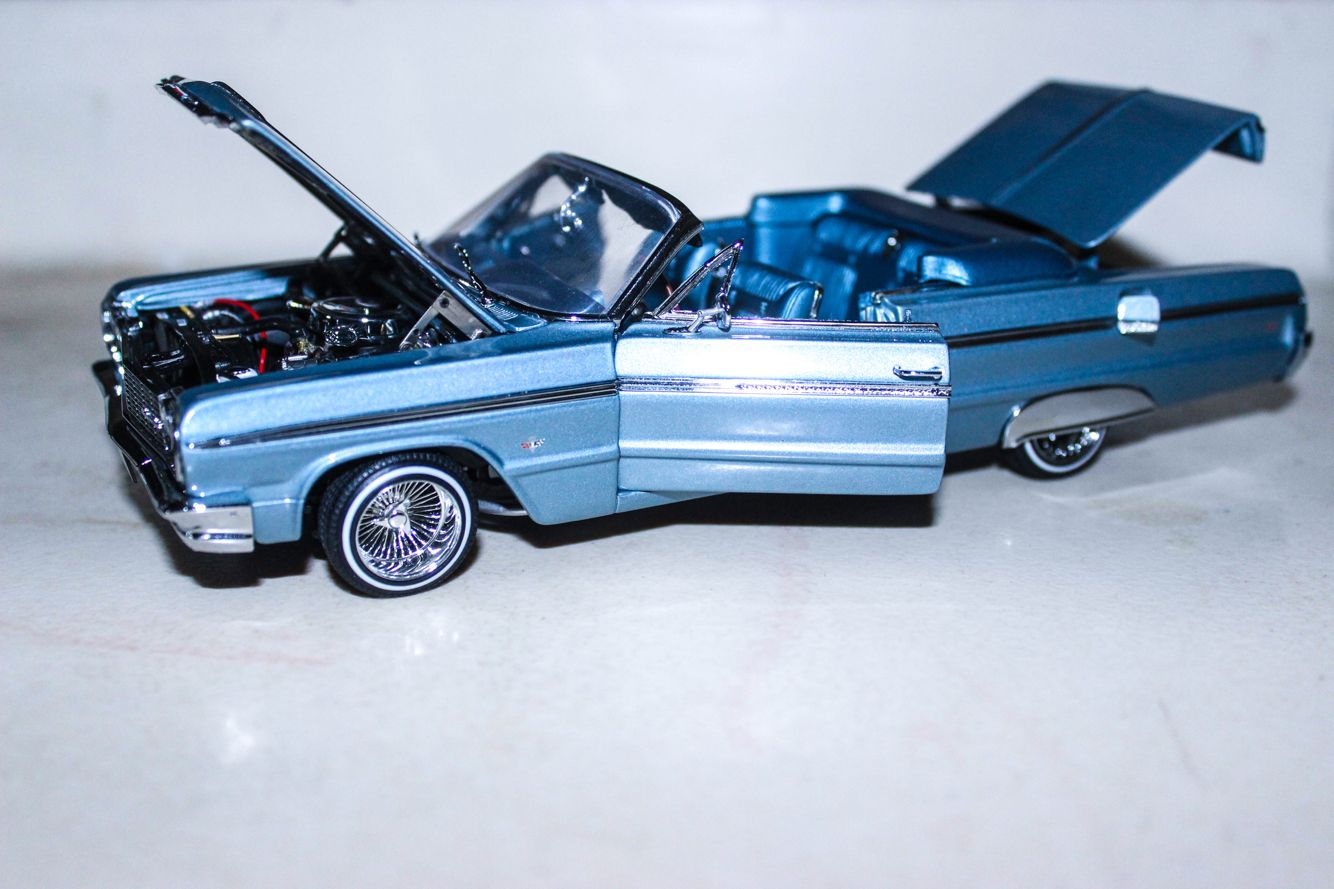 1964 chevrolet impala die cast model car