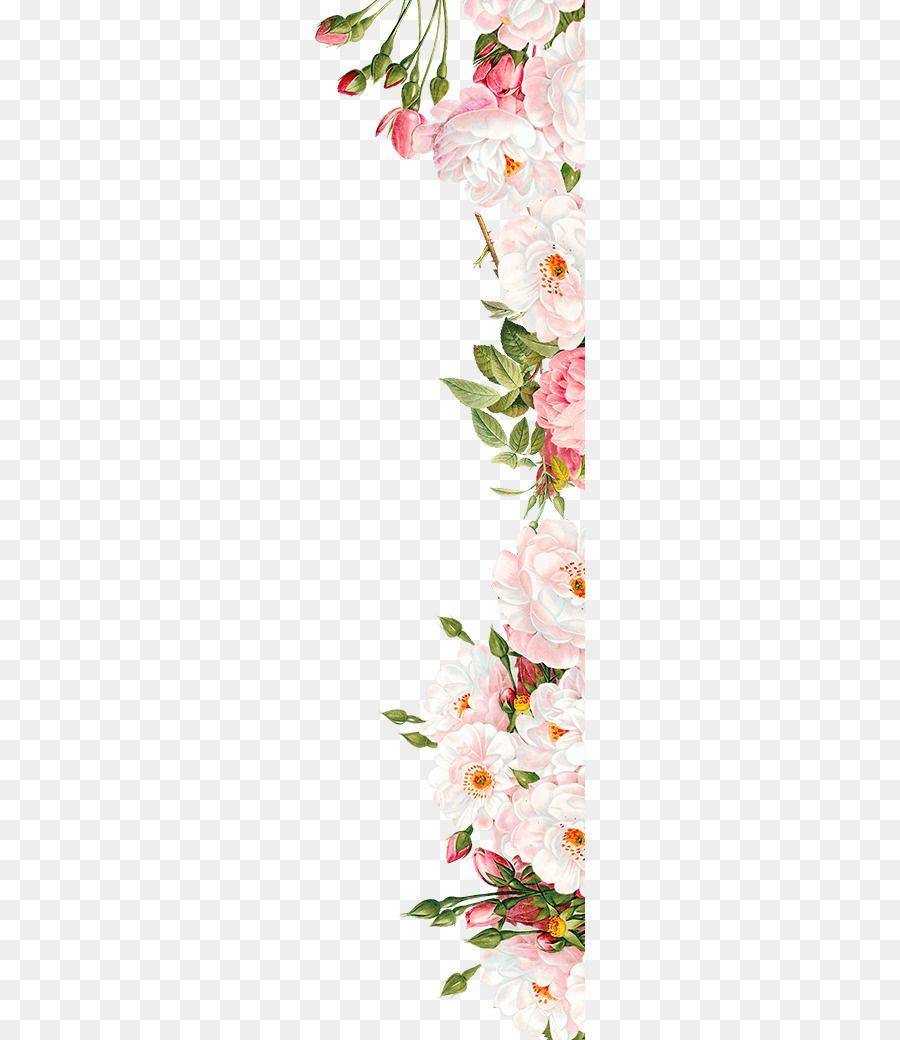 Pink Flowers Wedding Invitation Pink Flowers Kartu Pernikahan Bingkai Bunga Pernikahan Bunga