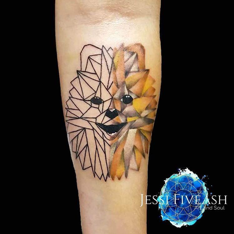 Geometric Pomeranian Pomeranian Pomeranianworld Tattoo Tattoos