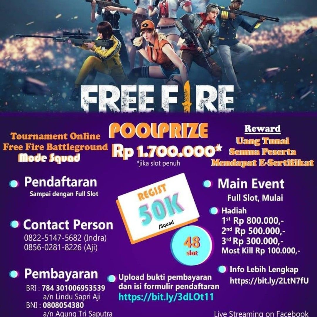 200 Free Fire Ideas In 2020 Juara Tournaments Zoom Website