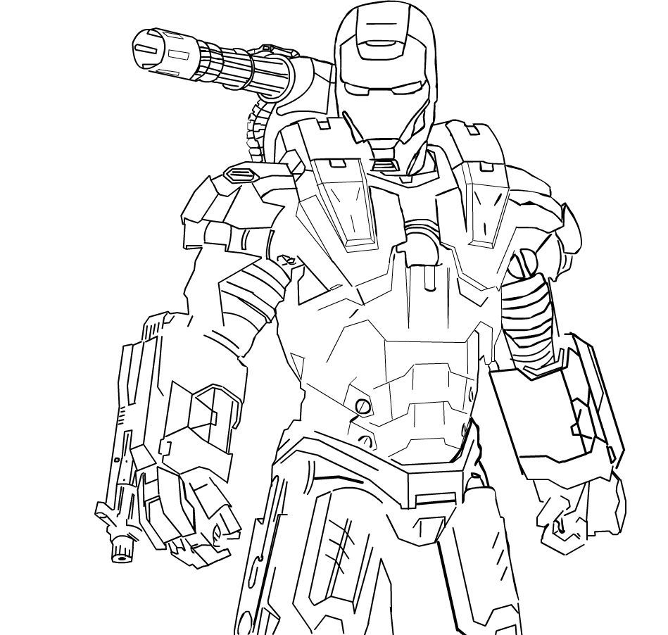 War Machine Coloring Pages Captain America Coloring Pages Coloring Pages Coloring Books