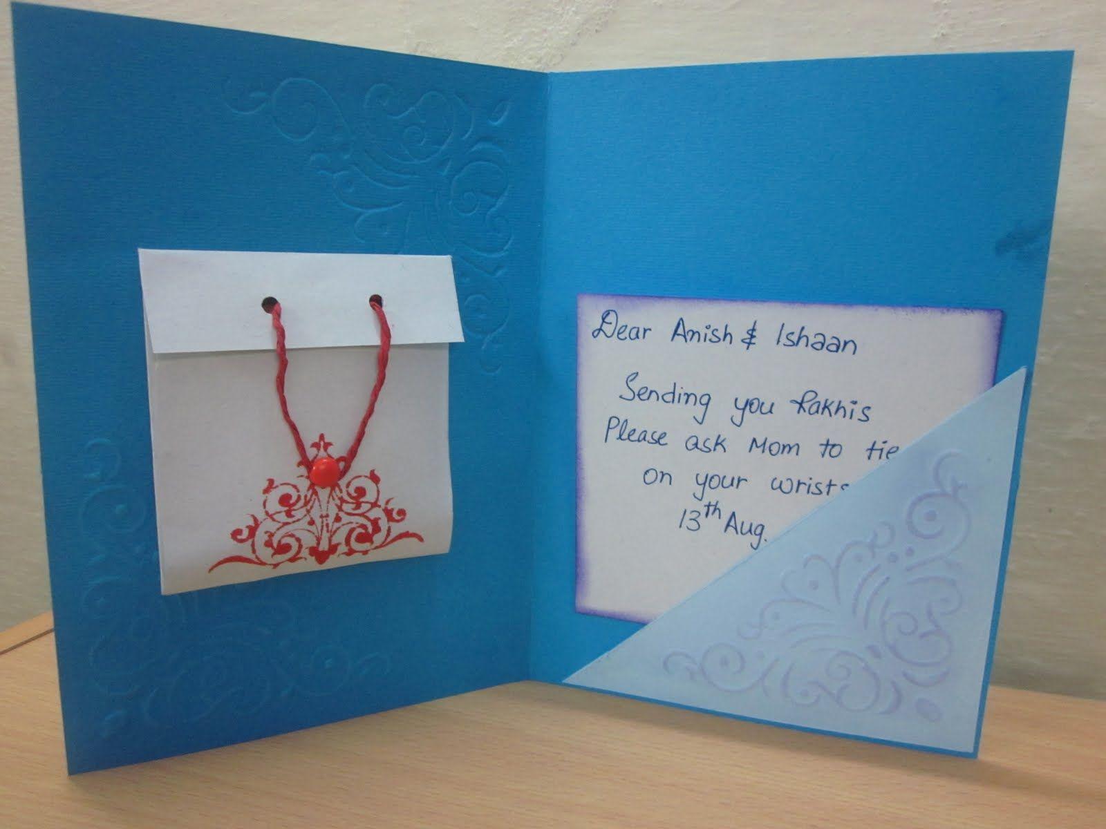 Handmad Raksha Bandhan Cardsg 16001200 Pixels Card Ideas