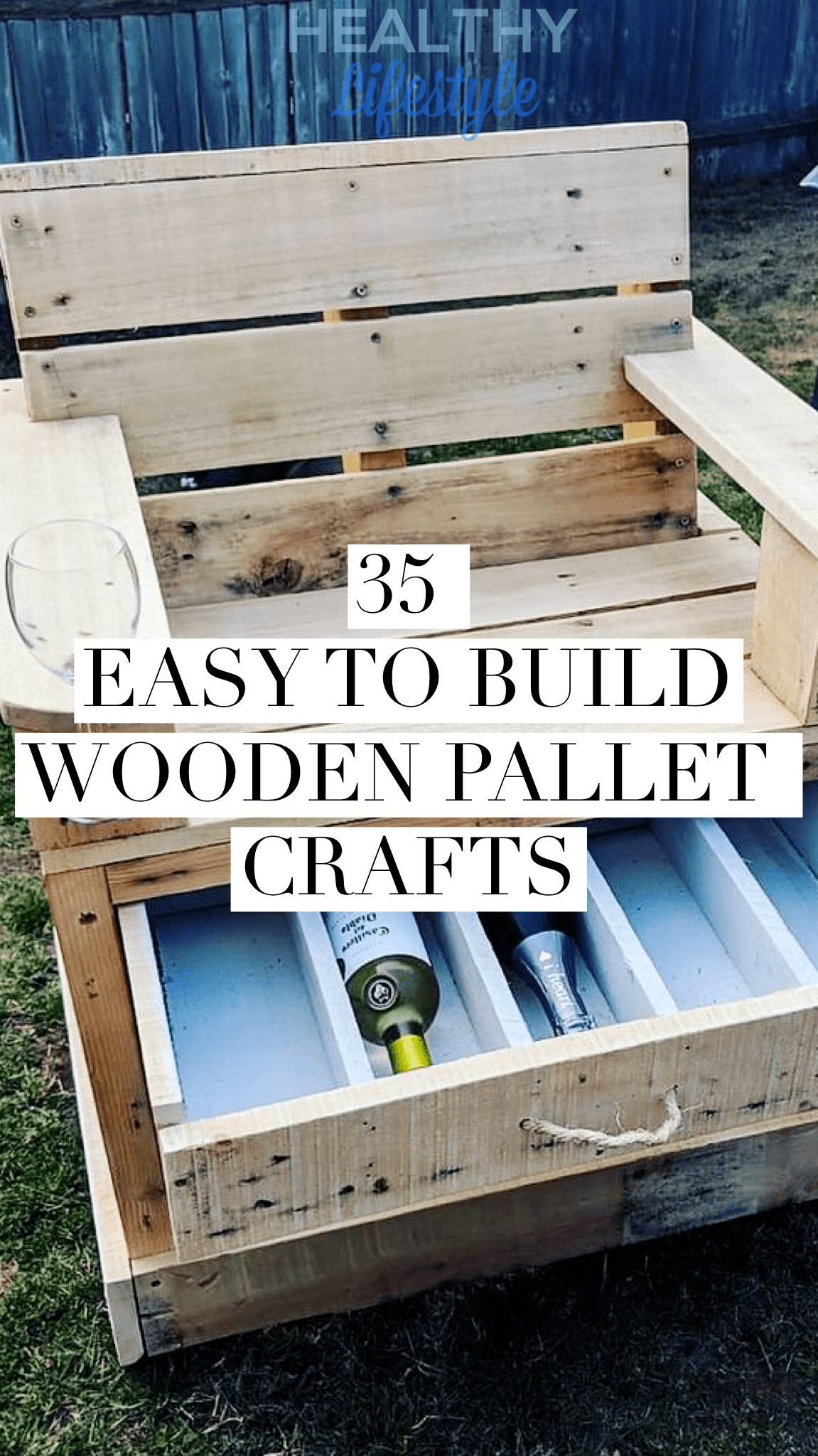 35 Easy To Build Wooden Pallet Crafts Diy Healthy Lifestyle All