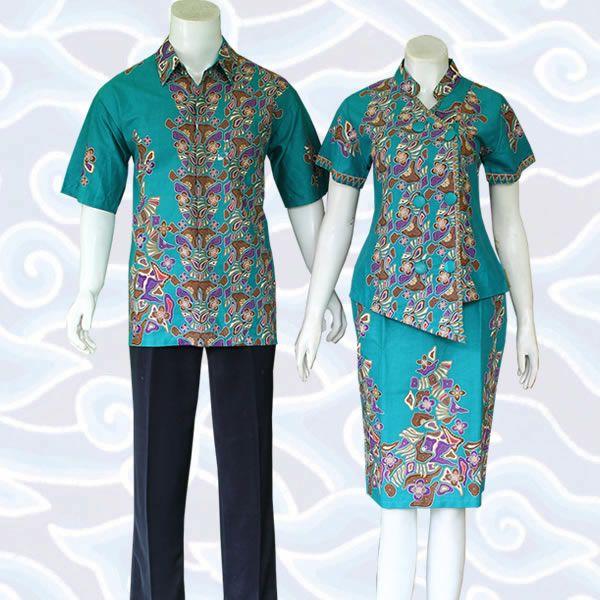 setelan batik sarimbit rok dan blus SB192 selengkapnya di  http   sekarbatik.com d669d4ad55