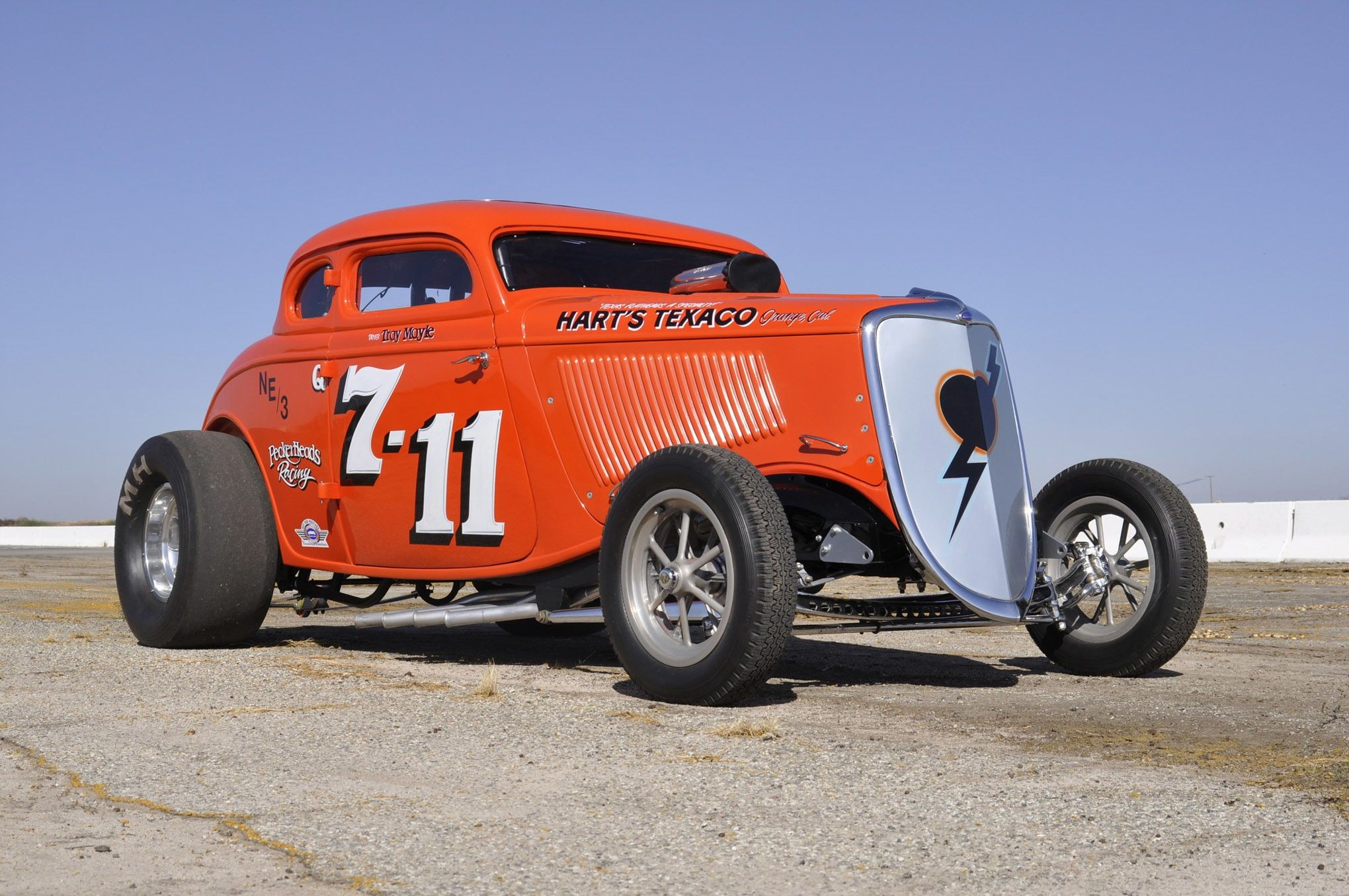 Recreating History The 7 11 1934 Ford Altered Coupe Then And