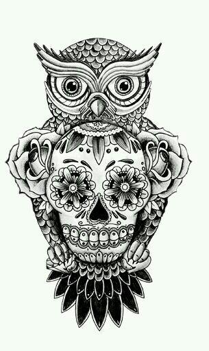 Pin De Luis Sandoval En Calaveras Y Macabros Pinterest Tatuaggi