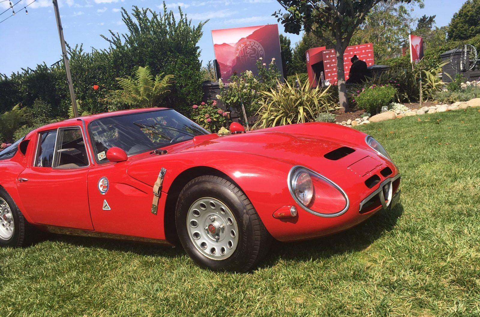 Alfa Romeo Wine Cheese At Folktale Winery Monterey Car Week 2017 Car Shopping Car Car Shop Alfa Romeo