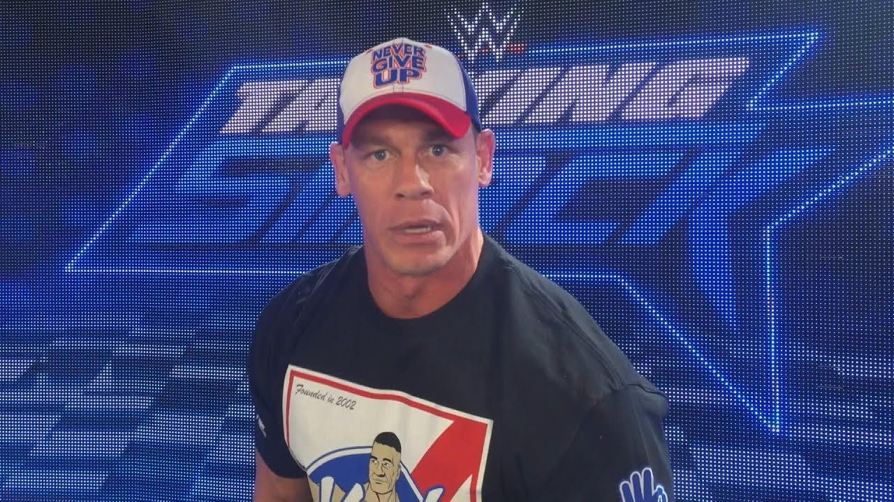 John Cena can't wait for the Royal Rumble's huge return to the Alamodome