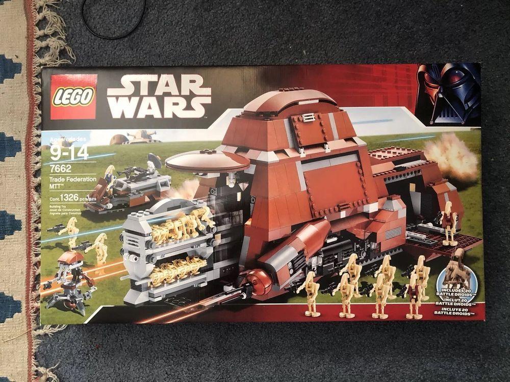 Star Wars Lego Trade Federation MTT 7662, MIB, Brand New