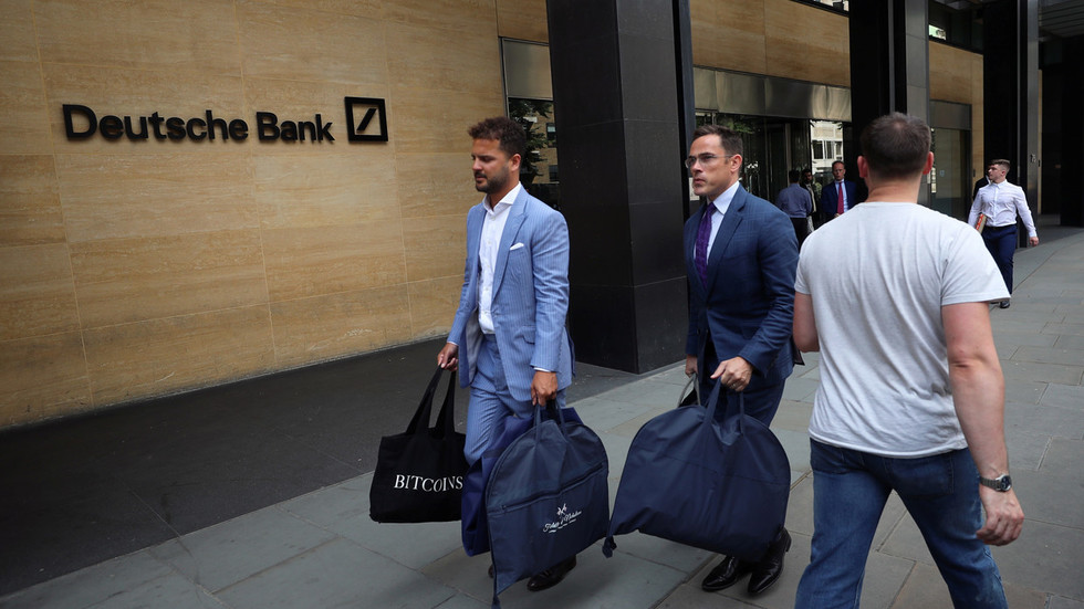 Perfect timing Deutsche Bank bosses fitted for £1,500