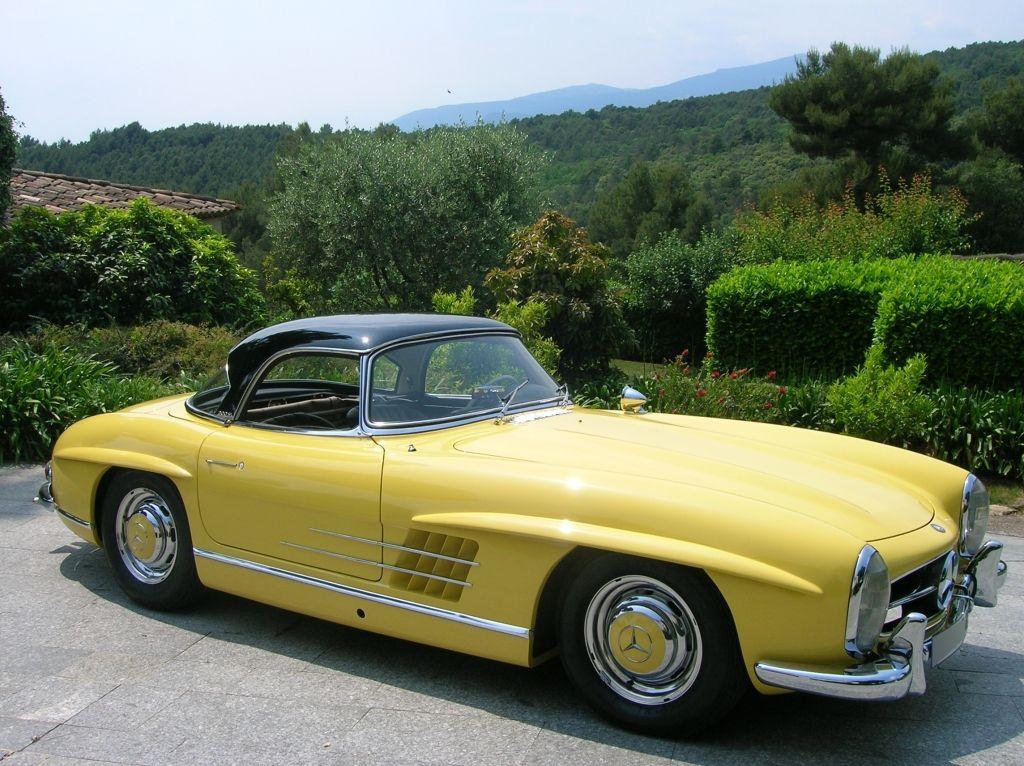 1958 Mercedes-Benz 300SL.