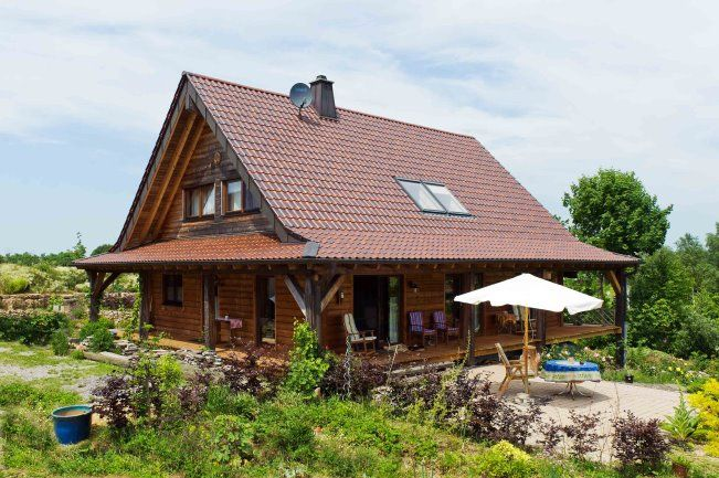 Einzigartig Amerikanische Holzhauser ~ Holzhaus streichen fullwood häuser pinterest holzhäuschen