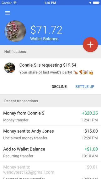 How To Transfer Money In Google Wallet