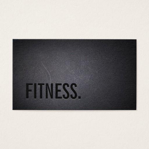 Fitness modern bold text elegant dark professional business card fitness modern bold text elegant dark professional business card colourmoves