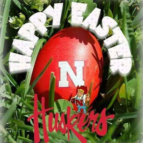 Happy Easter Husker style