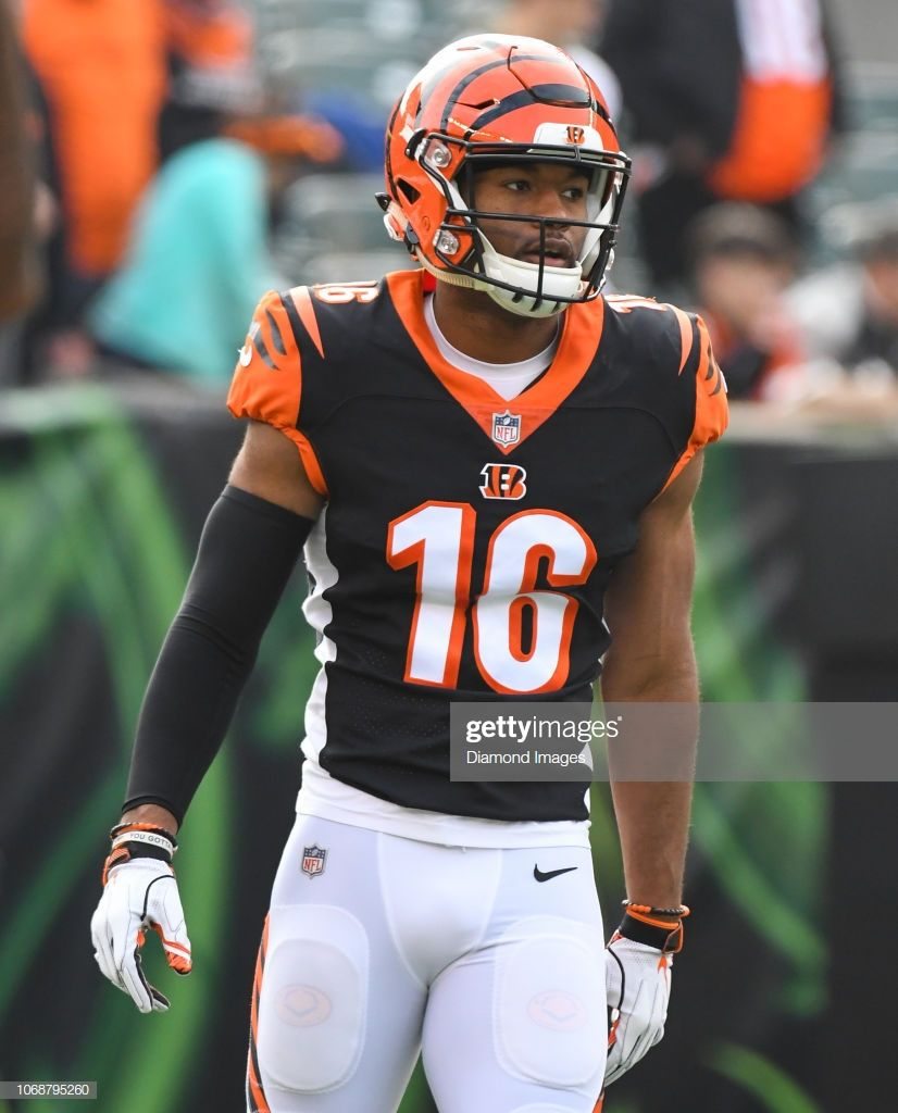 Wide Receiver Cody Core Of The Cincinnati Bengals On The