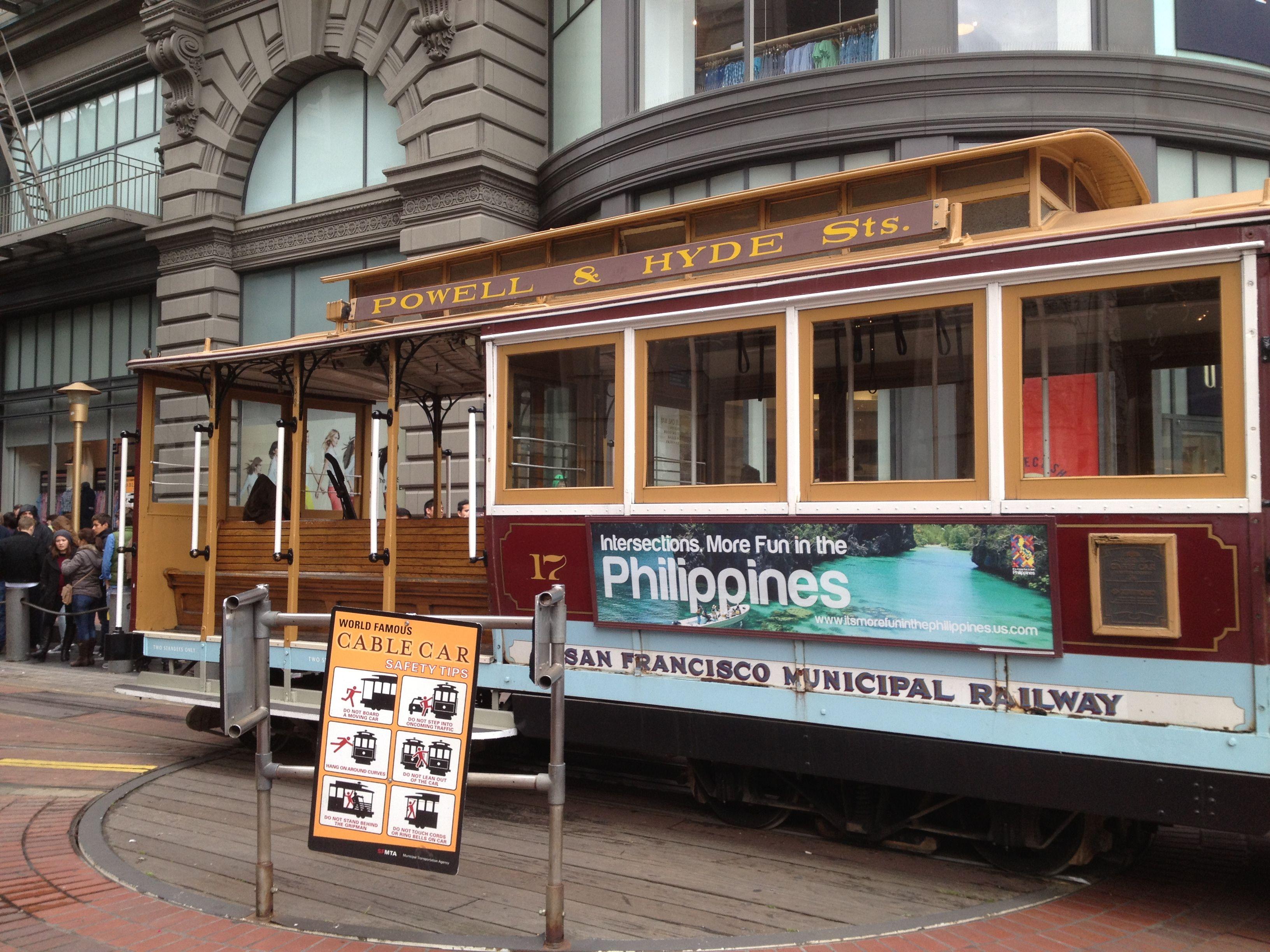San Francisco Trolly Cars Steam trains, Train, Steam