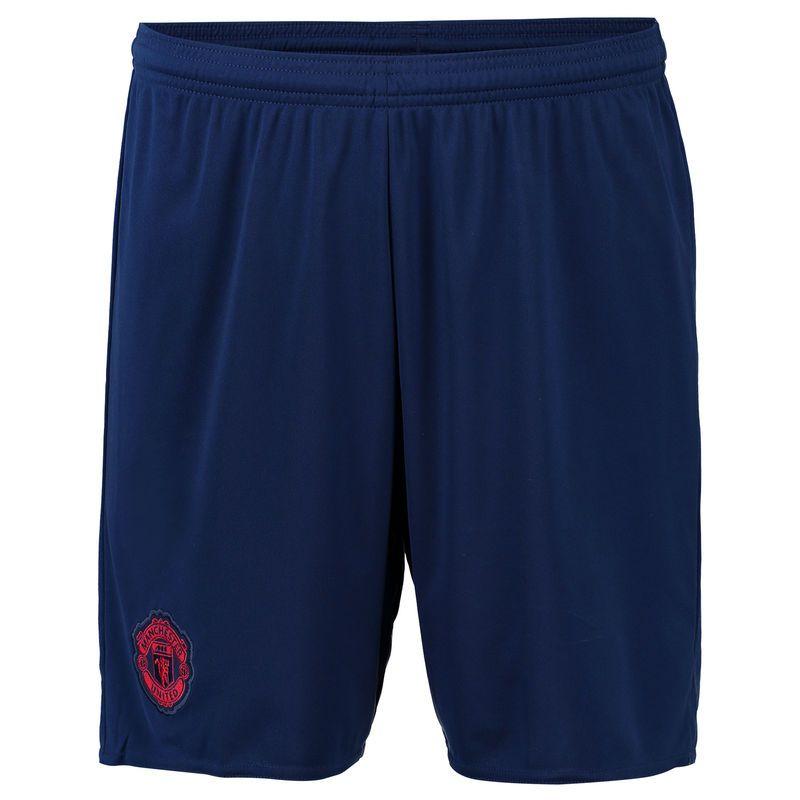 3049e5a146d55 Manchester United adidas 2016 17 Away Shorts - Blue -