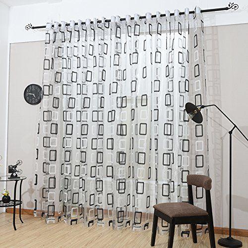 Dmc470 Sheer Curtain Panels 60 X 100 Inch Tall Window Treatments