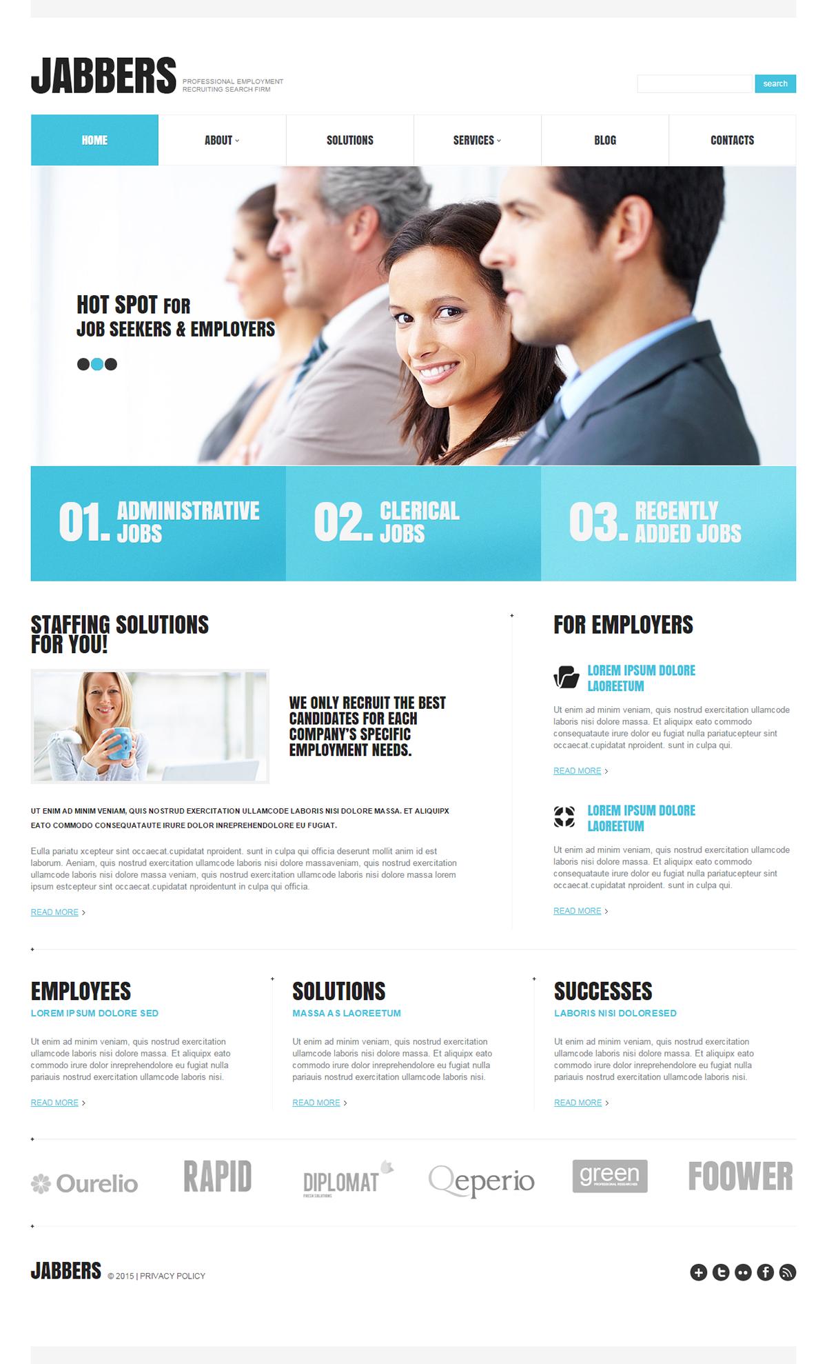 Recruiting agency wordpress theme wordpress themes pinterest recruiting agency wordpress theme flashek Gallery