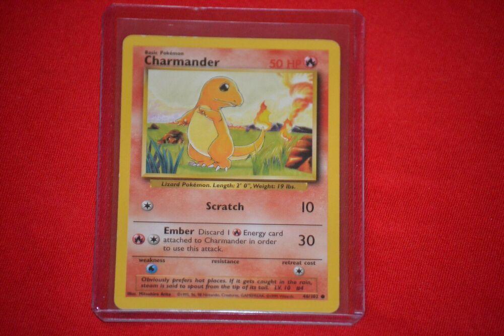 Charmander pokemon card 46102 ebay in 2020 pokemon