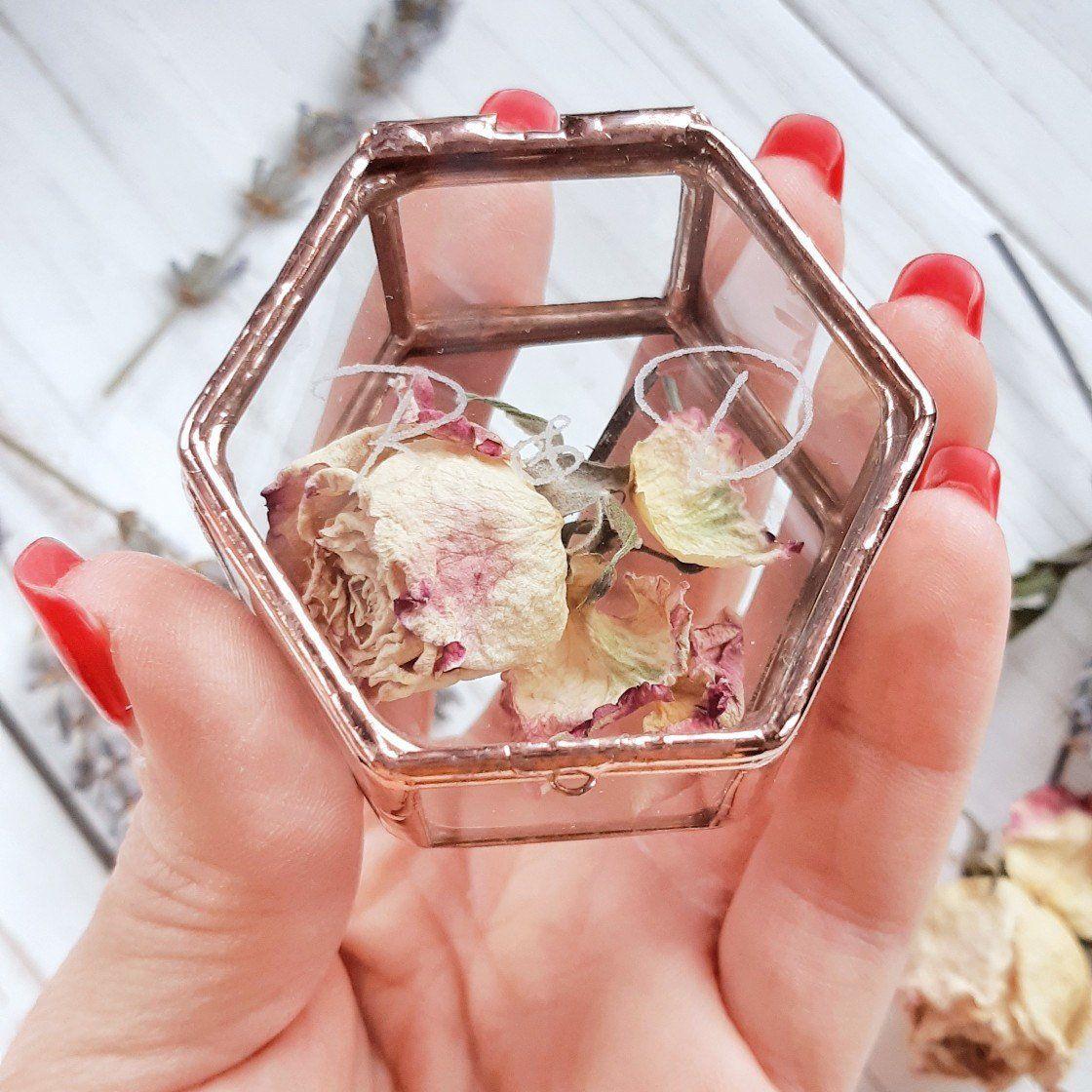 MINI Engagement Ring Box Glass Ring box