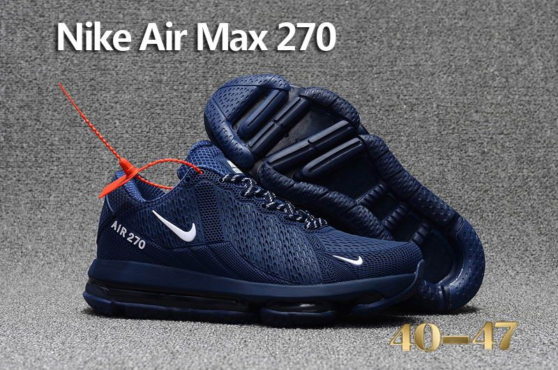 new styles 487d0 5d97f Nike Air Max Flair 270 KPU Dark Blue - http   www.cheapsjordan13