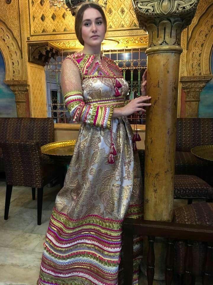 Robe Kabyle Alg 233 Rienne Algeriantraditionaldresses