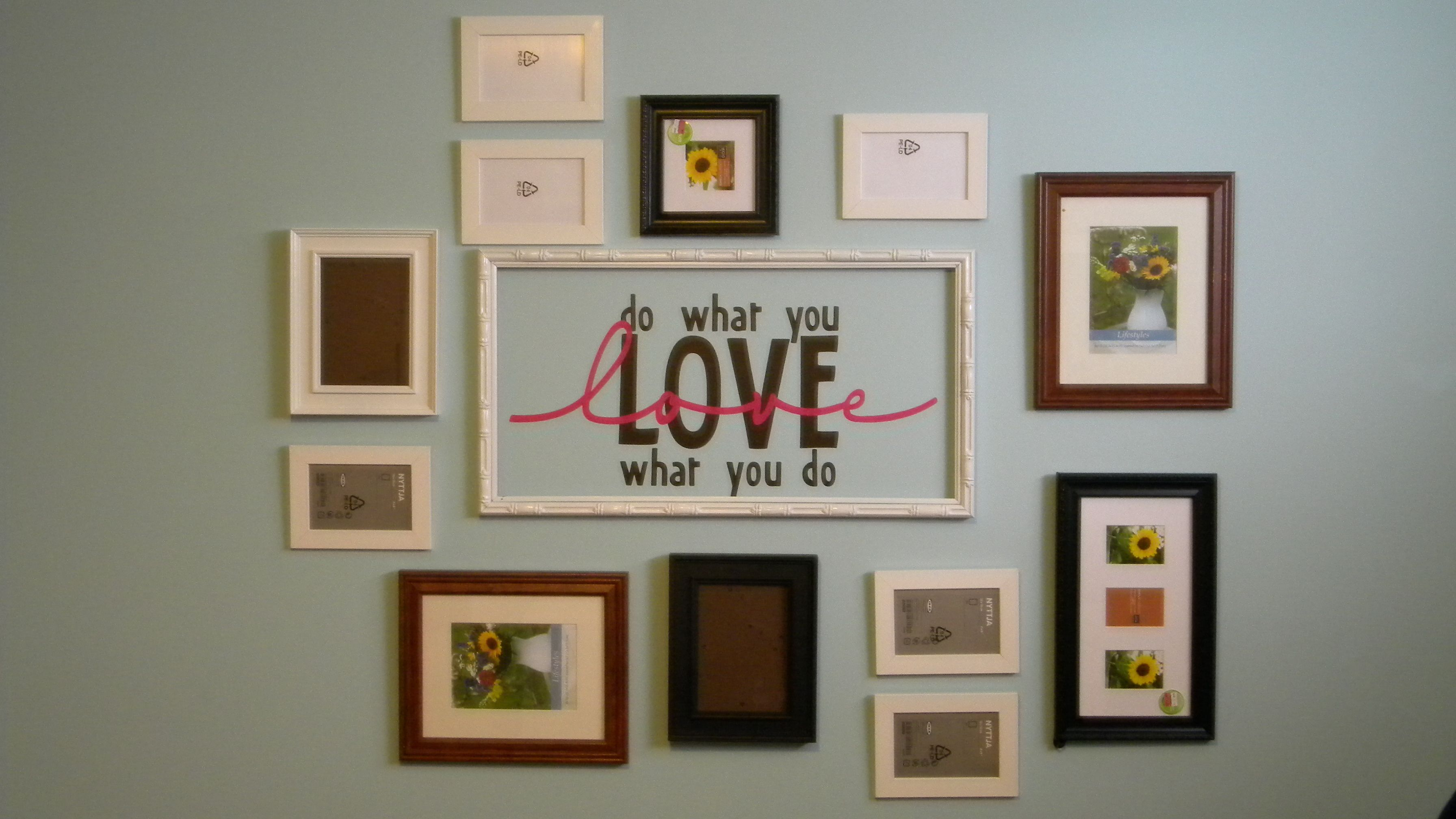 Office Reveal Part 1: Gallery wall…scrapbook style!   Gallery wall ...