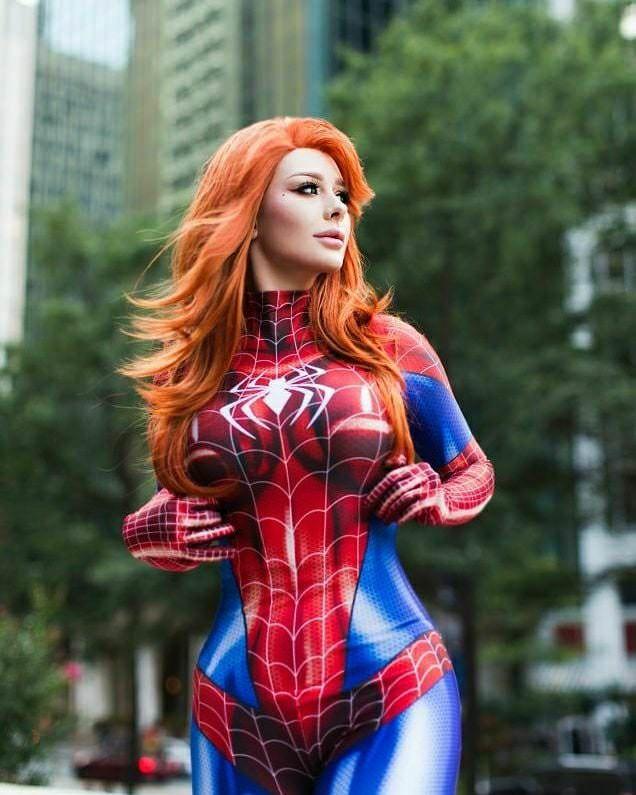 mary jane watson by jenna lynn meowri cosplaygirls boom