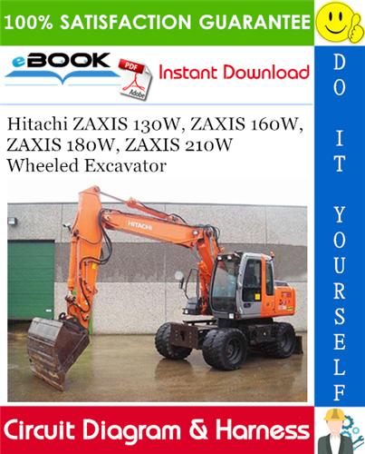Hitachi Zaxis 130w  Zaxis 160w  Zaxis 180w  Zaxis 210w