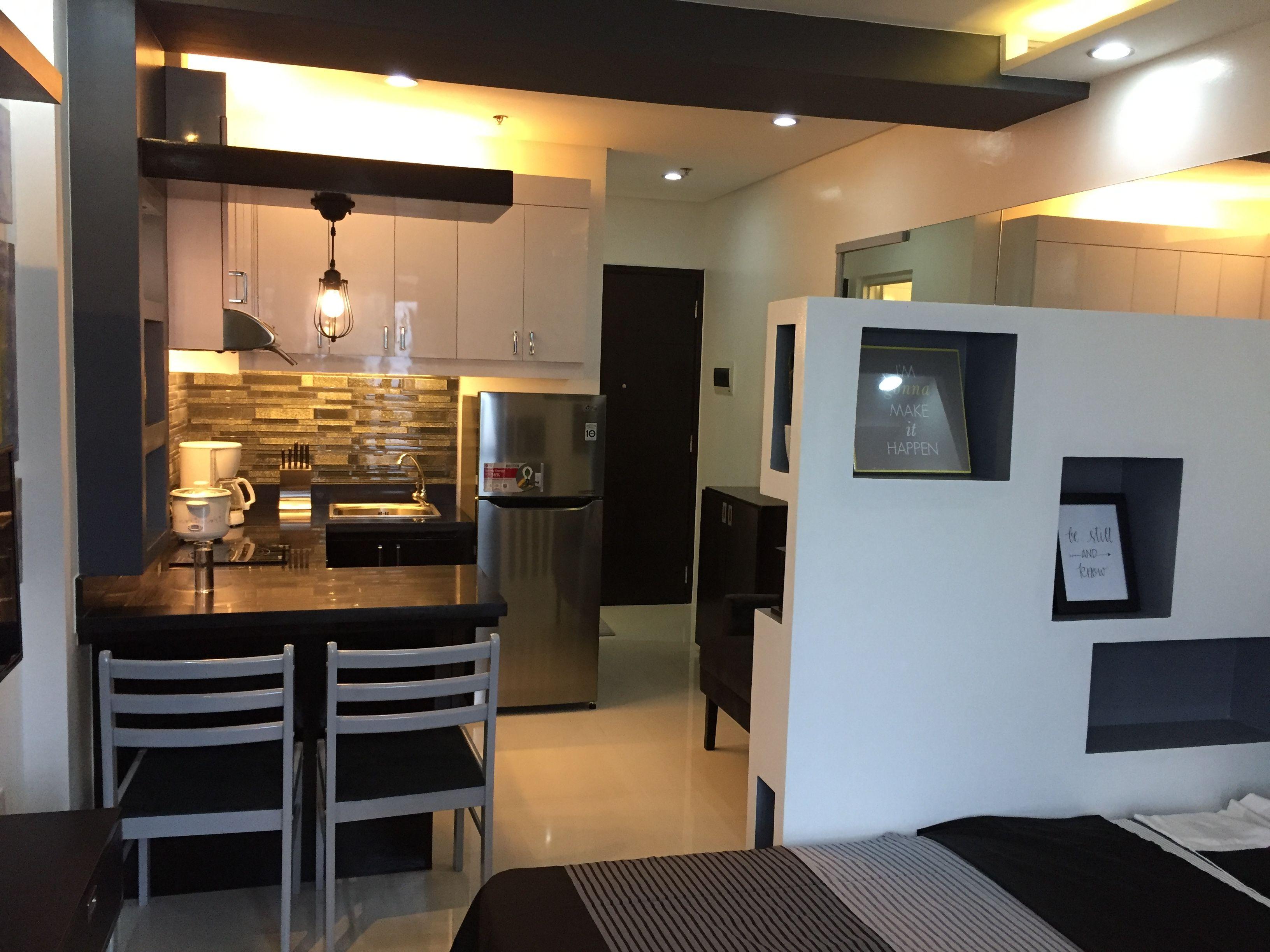 Studio Type Apartment Interior Design Ideas Novocom Top