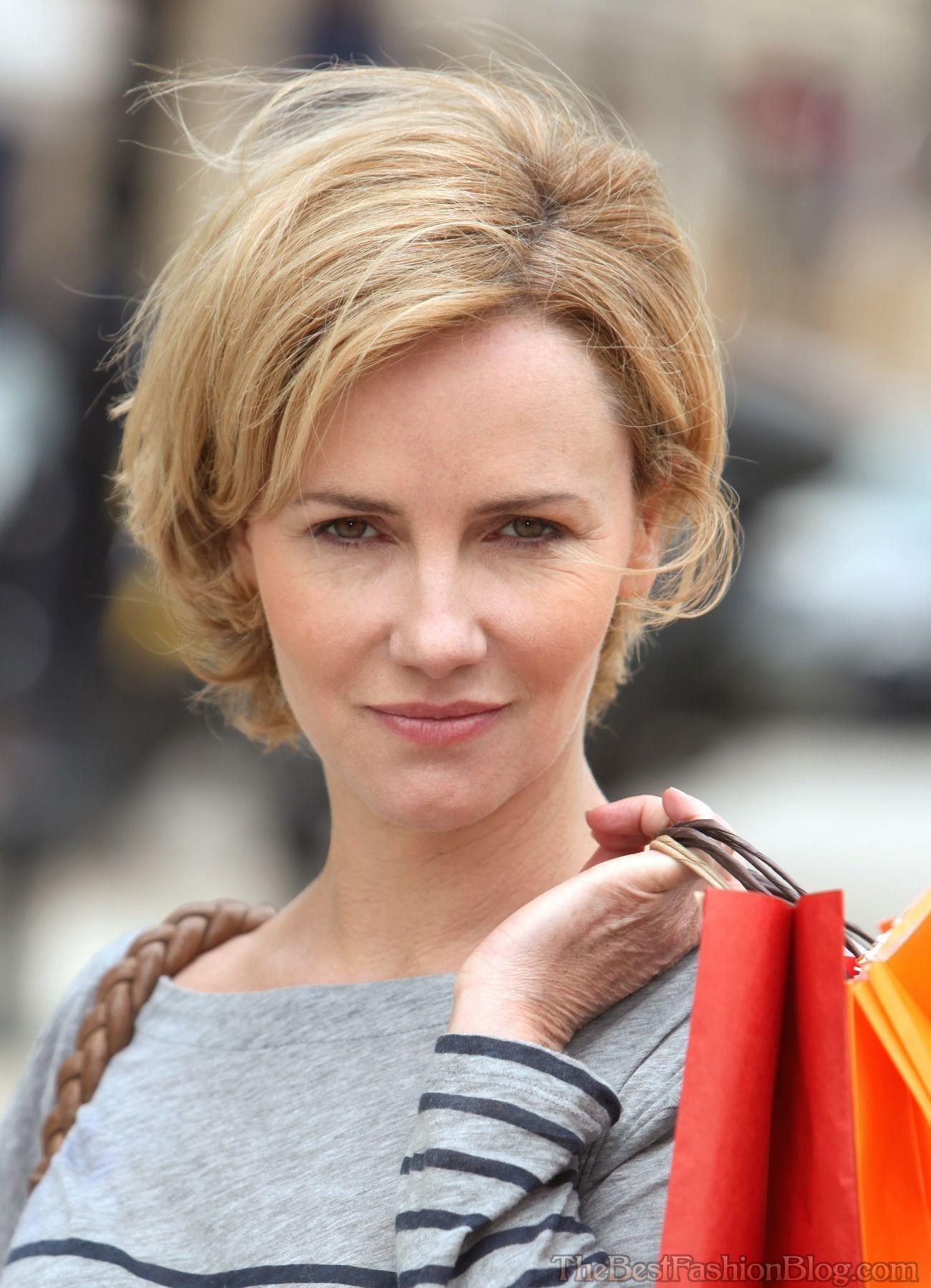 30 short hairstyles for older ladies #hairstyles #ladies